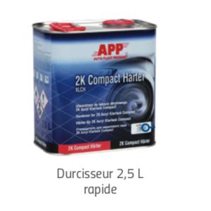 Durcisseur Vernis 2K Acryl Klarlack Compact  2,5 litres