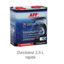 Durcisseur Vernis 2K Acryl Klarlack Compact  2,5 litres  RAPIDE