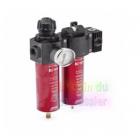 Filtre régulateur pour cabine de peinture / épurateur d'air double