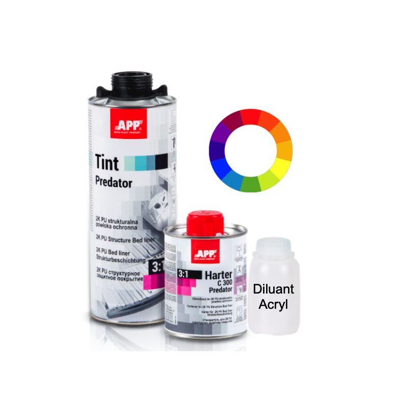 Revêtement de protection Tint predator ( possibilité de teinter)