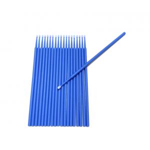 20 pinceaux de retouche jetable bleu large