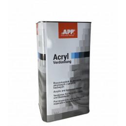 Diluant APP 2K ACRYL 5 litres