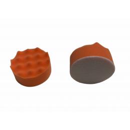 Mousse gaufrée 75mm orange