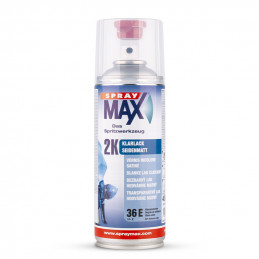 Vernis de finition satiné 2K spray max