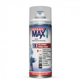 Bombe d'apprêt Spray Max 1K   Blanc