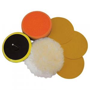 Kit 6 accessoires de ponçage/polissage