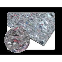 Plaque insonorisante adhésive avec couche de feutre