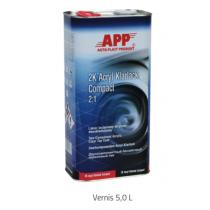 Vernis 2K Acryl Klarlack Compact 2:  5 litres