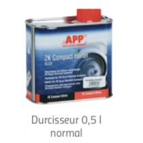 Durcisseur Vernis 2K Acryl Klarlack Compact  0,5 litres