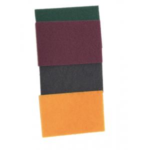 Tampon abrasifs fibre